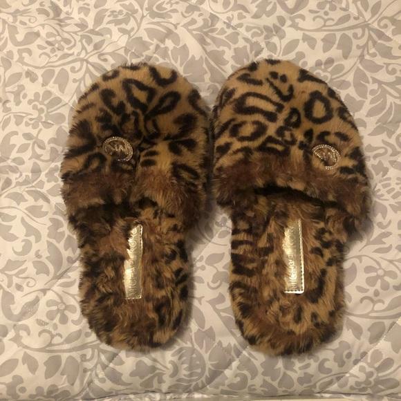 Michael Kors Shoes - Michale Kors Leopard Slippers